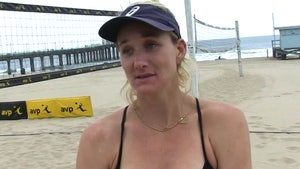 Kerri Walsh Jennings Doubles Down On Anti-COVID Mask Stance, 'Open Up The World'