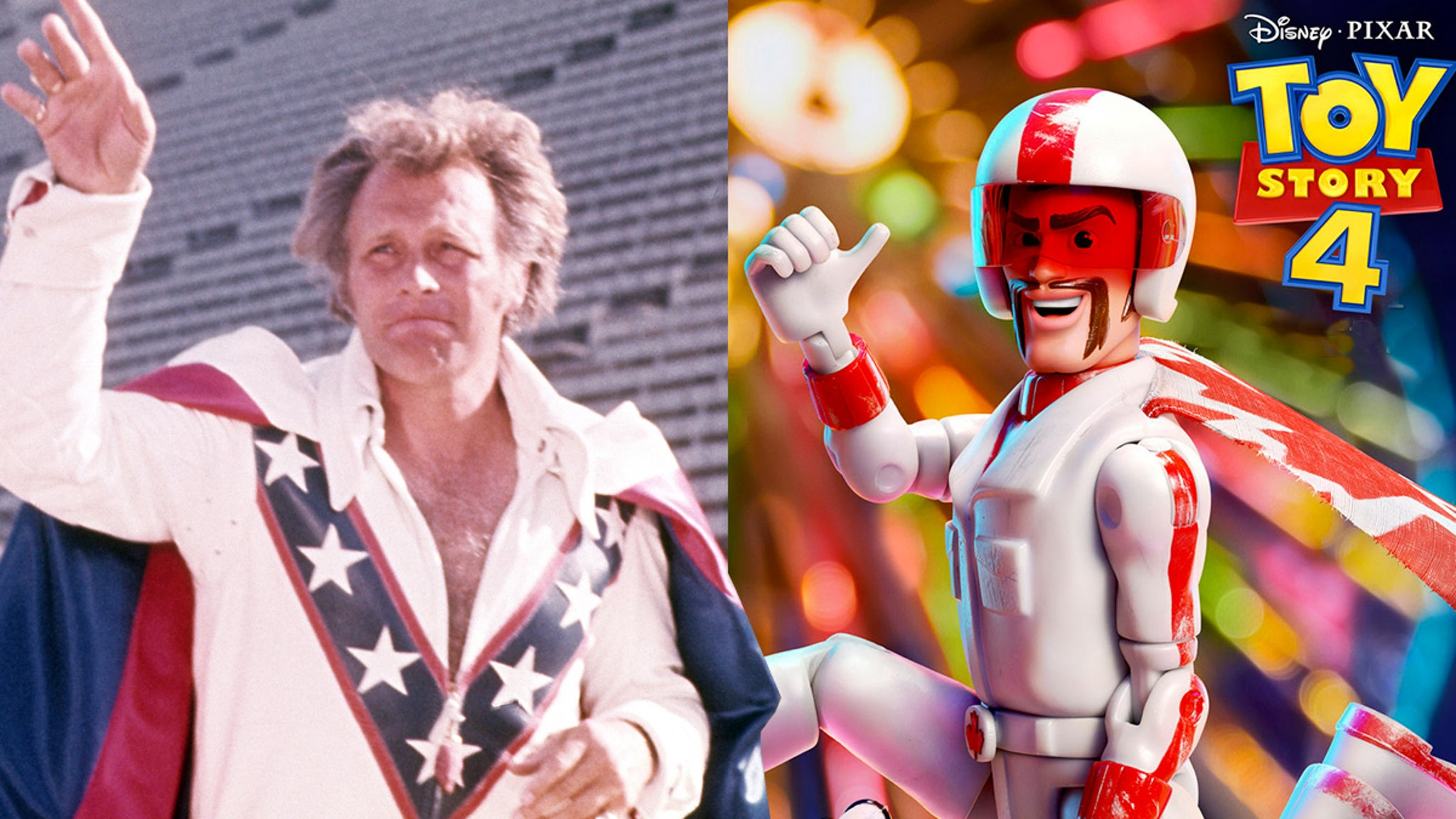 Disney & Pixar Sued Nice 'Toy Story 4' Stunt Too Bad You Ripped Off Evel Knievel!!!