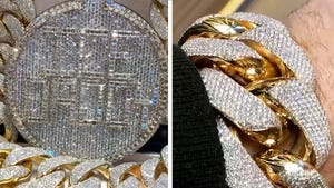 Gucci Mane's Wife Gifts Him 'Biggest' Cuban Link Chain & Pendant Set