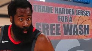 Houston Car Wash Accepts James Harden Jerseys For Free Washes