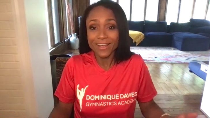 Dominique Dawes Says Simone Biles Would've Smoked Her In Competition, She's 'Unreal!'.jpg