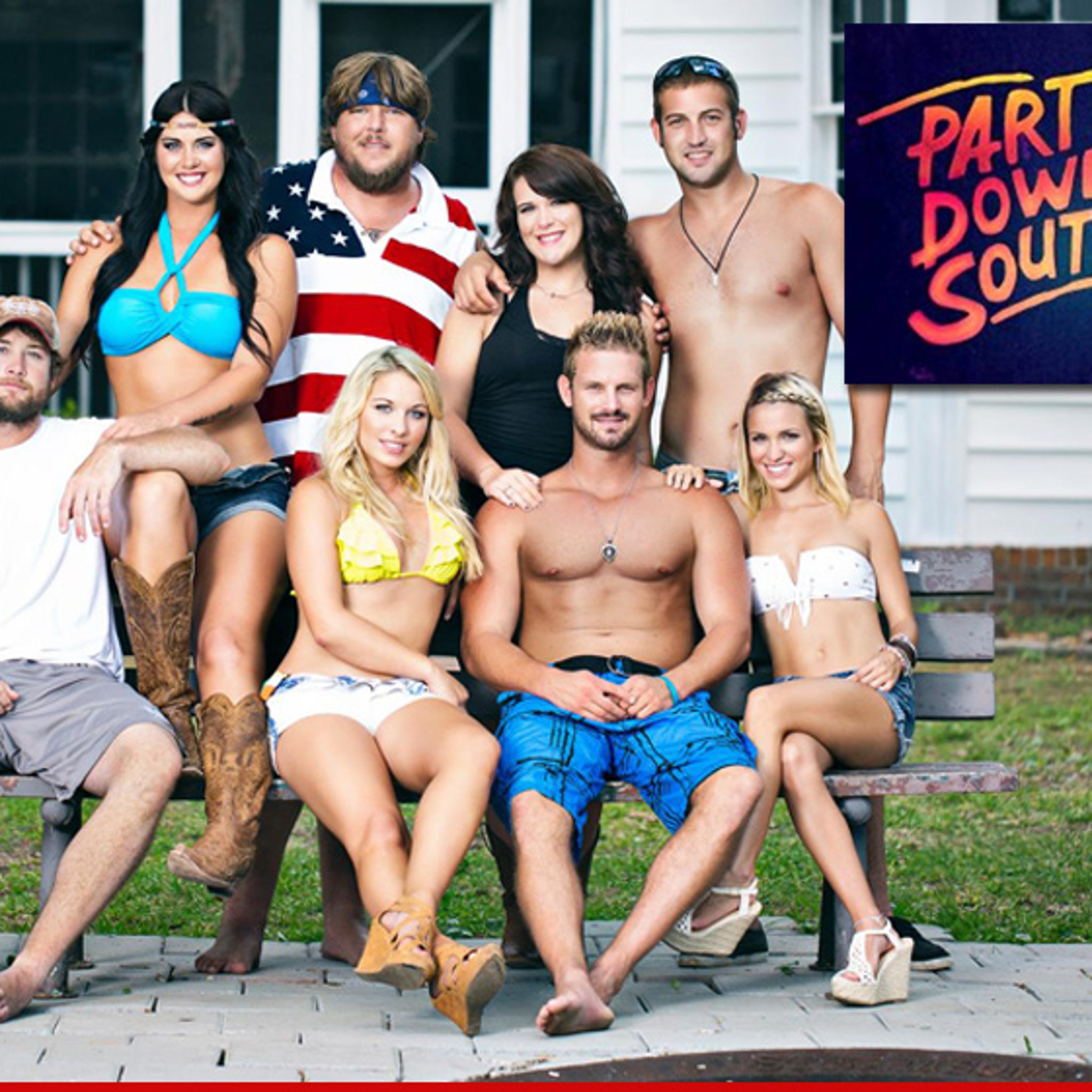 Party Down South Cast We Want More Money Bitches