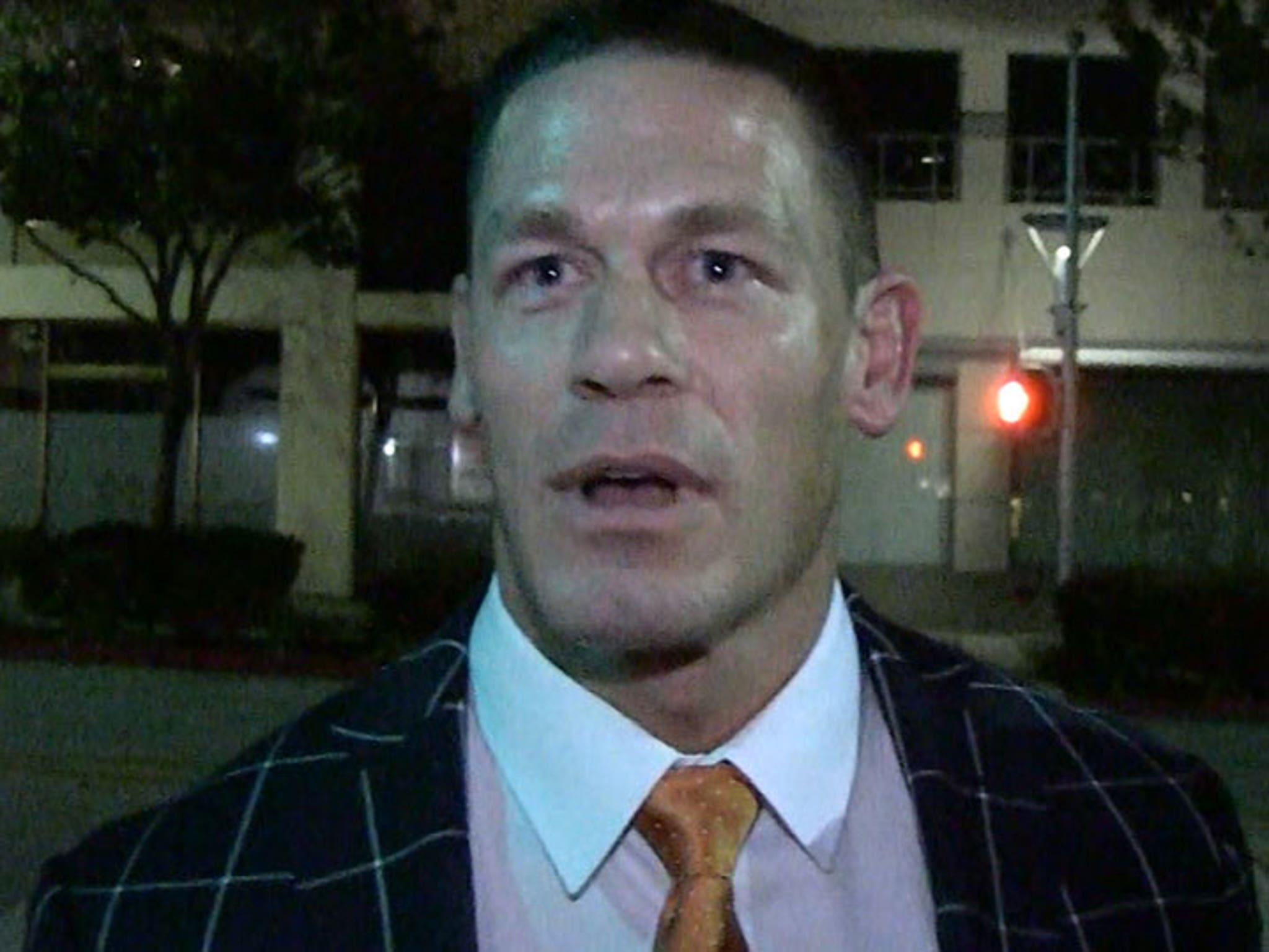 John Cena Says WWE Could Have A Transgender Wrestler with
