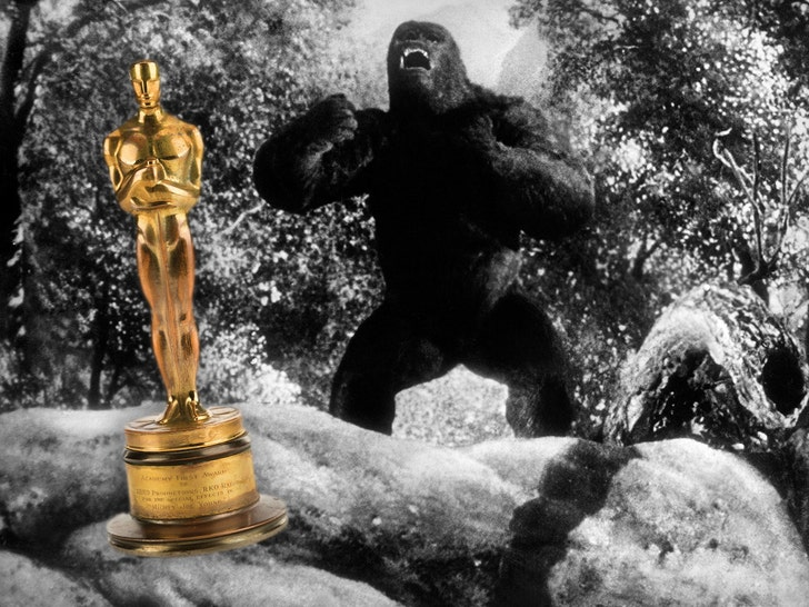 Scene from Mighty Joe Young