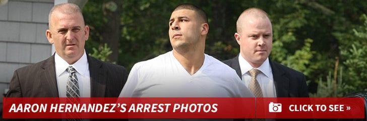 Aaron Hernandez's Arrest Photos