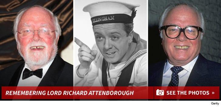 Remembering Lord Richard Attenborough