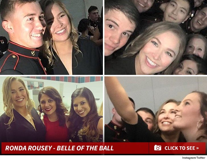 Ronda Rousey - Belle of the Marine Corps Ball