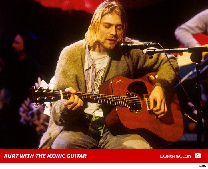 Kurt Cobain's Inconic 'Unplugged' Guitar