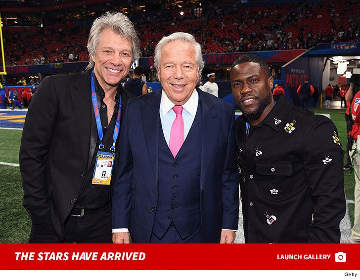 The Stars Have Arrived To Super Bowl LIII