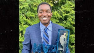 Isiah Thomas Reunited with Stolen NBA All-Star MVP Trophy, Thanks Auction House