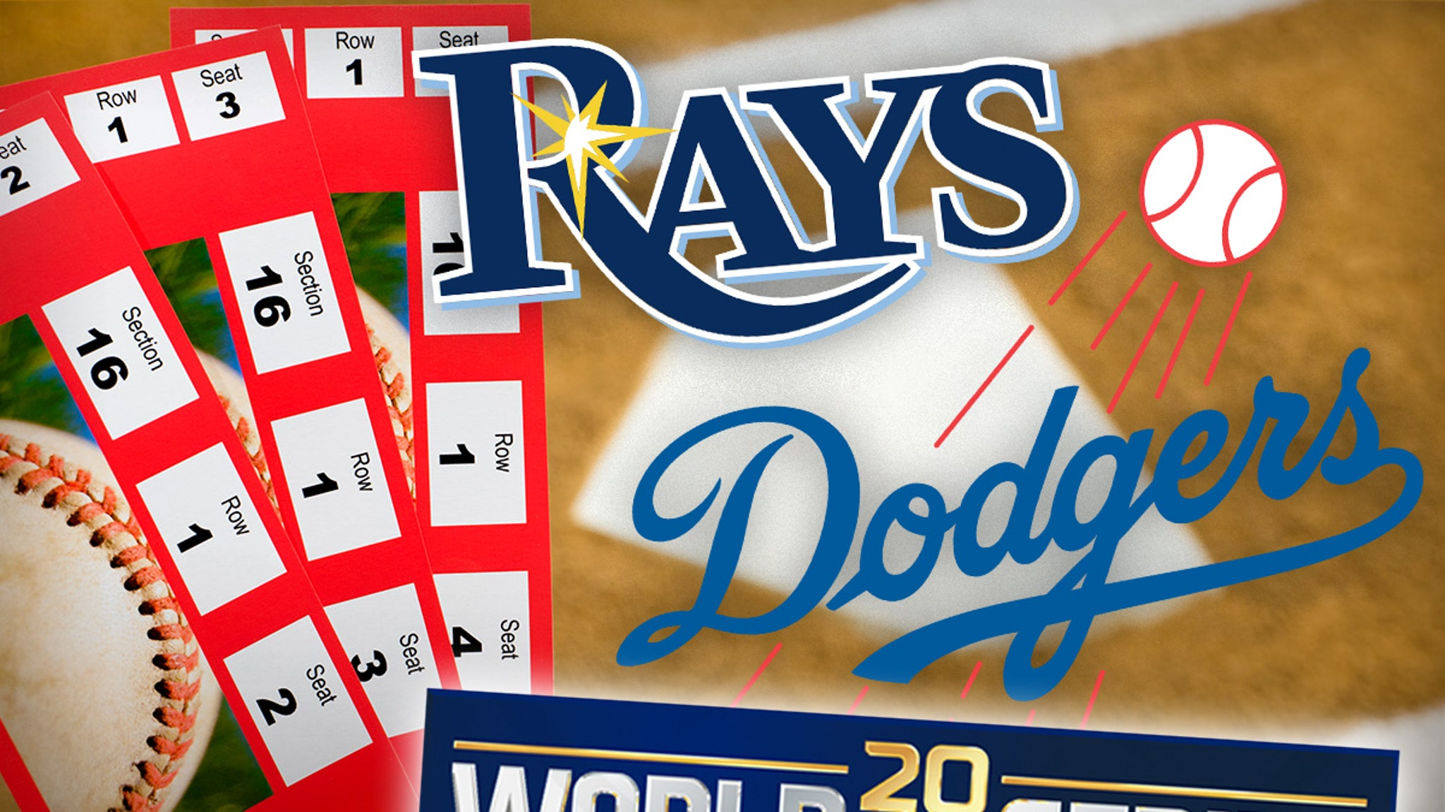 Dodgers Vs. Rays World Series Ticket Prices ... Cheap As Hell!!!
