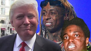 Trump Pardons Lil Wayne & Frees Kodak Black, Shared Attorney Went to Bat
