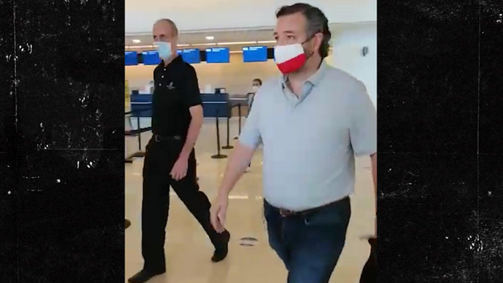 Сенатор Тед Круз возвращается в Техас из Канкуна из-за негативной реакции