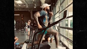 Odell Beckham Runs Like Hell On Treadmill 8 Months After ACL Injury