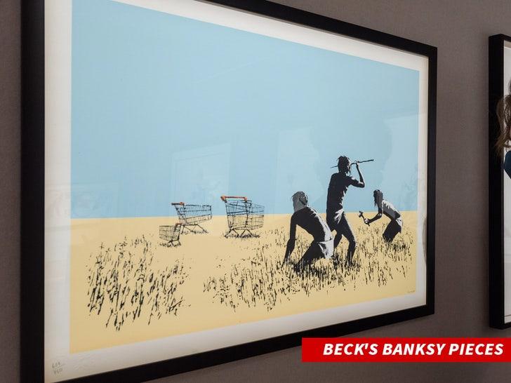 Beck's Banksy pieces