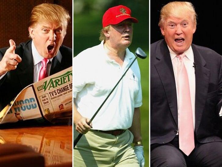 Donald Trump -- Through The Years