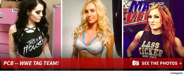 Paige, Charlotte, & Becky -- WWE Tag Team