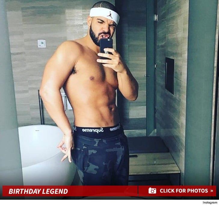 Drake's Sexy Shirtless Photos