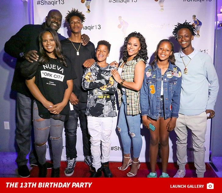 Shaqir's 13th Birthday Party