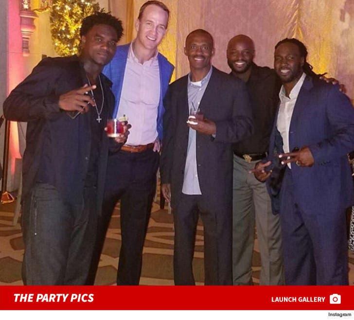 Peyton Manning's Retirement Party