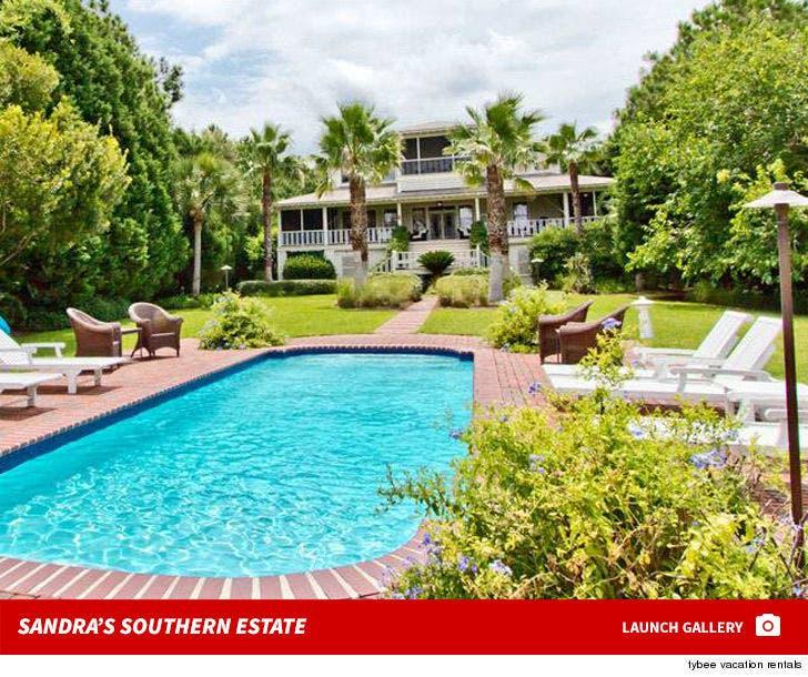 Sandra Bullock -- Selling Georgia Estate