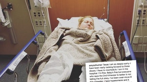 Amy Schumer Hospitalized for Pregnancy Issues, Cancels Stand-Up Show