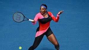 Serena Williams Rocks 1-Legged Catsuit at Australian Open, Dominates