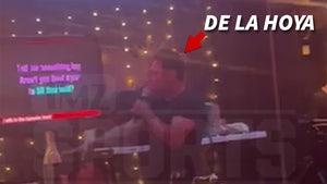 Oscar De La Hoya Sings Karaoke Week After COVID Hospital Release