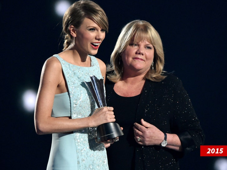Taylor Swift reveals mom Andrea has been diagnosed with brain tumor