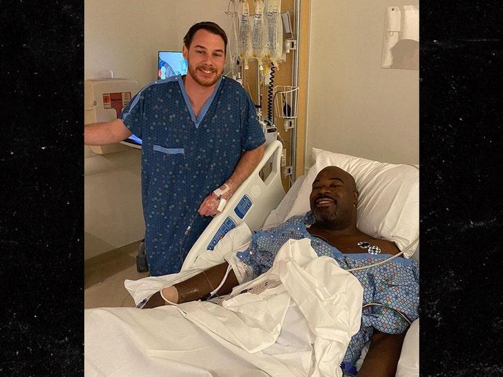 Ex-NFL Star Albert Haynesworth Gets New Kidney, 'I Feel Better!'