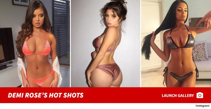 Demi Rose's Hot Shots