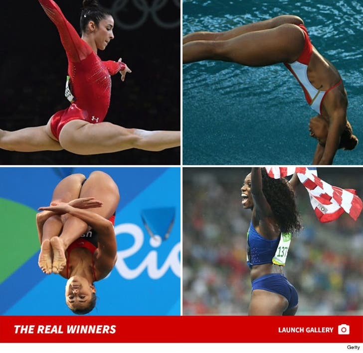 Best Butts at the Rio Olympics