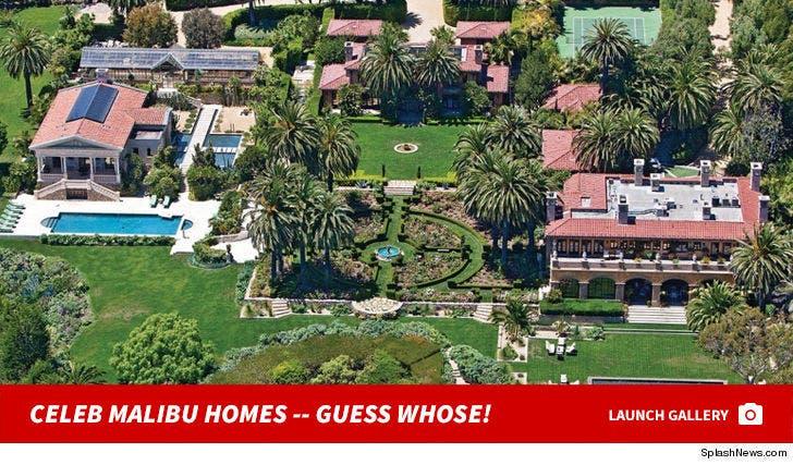 Celebrity Malibu Homes -- Guess Whose!