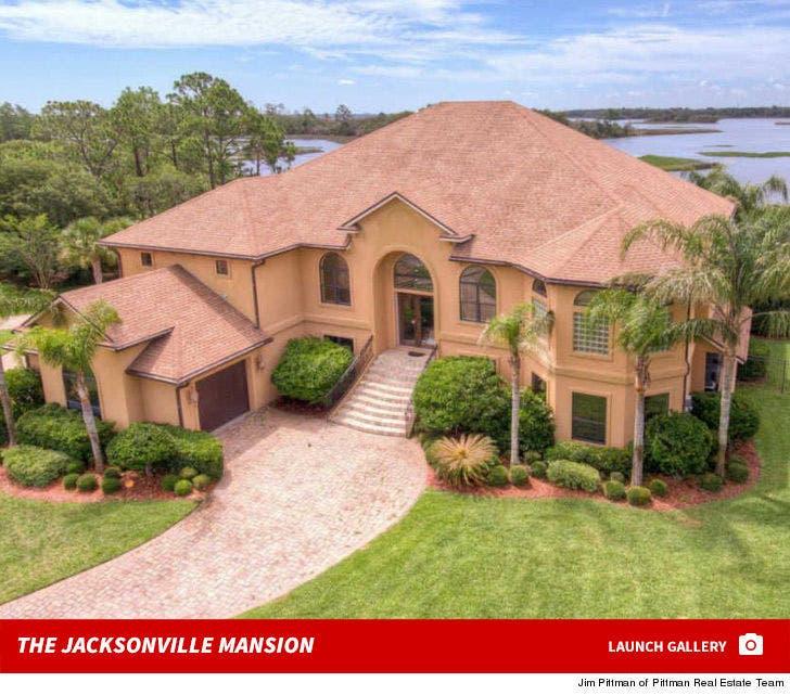 Allen Hurns' Jacksonville Mansion