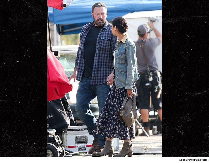 Ben Affleck Back On Movie Set Shooting Addiction Role Heels Of