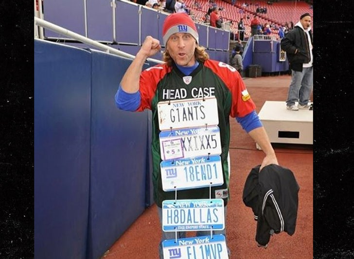 NYG Super Fan 'License Plate Guy' Upset With No Fans Policy, 'I'm  Devastated'