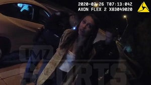 Aaron Judge's GF Told Cops 'Do You Know Who My Boyfriend Is?!' Arrest Vid Shows