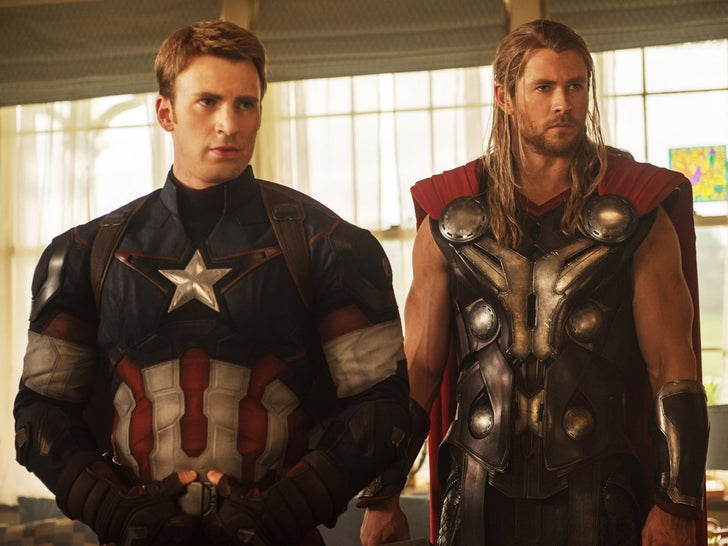 Stars In Marvel Movies