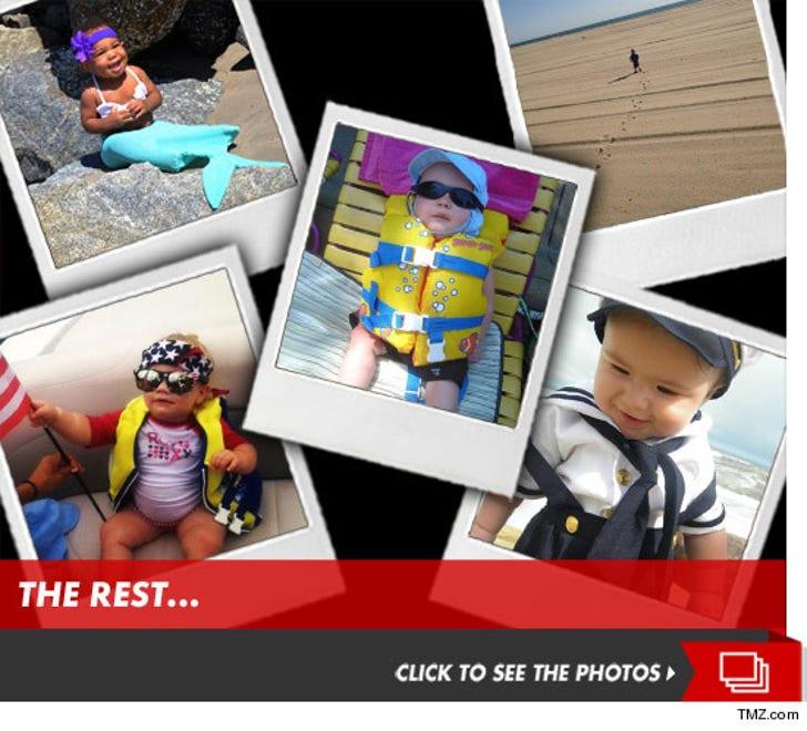 TMZ's Annual Beachin' Baby Contest!
