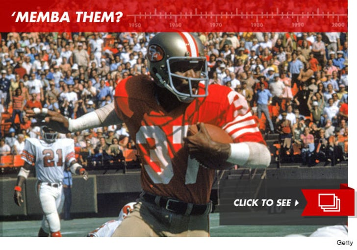 Historic San Francisco 49ers: 'Memba Them?!