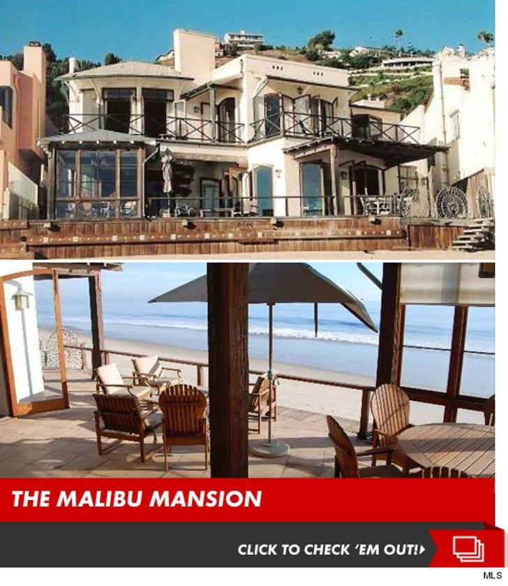 David Spade's Malibu Mansion