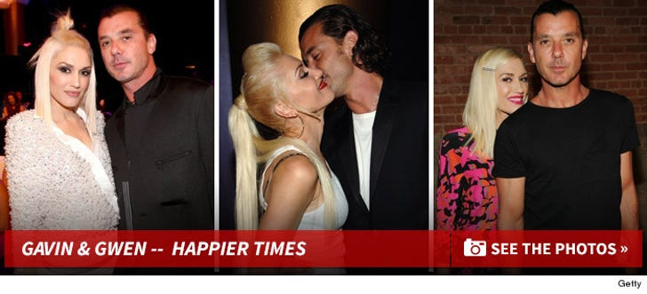 Gwen Stefani & Gavin Rossdale -- Before the Split