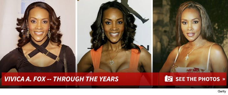 Vivica A. Fox -- Through the Years