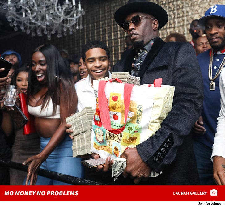 Diddy at Ace of Diamonds -- Mo Money No Problems