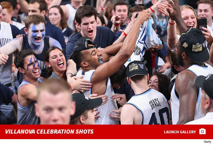 Villanova Celebration Shots
