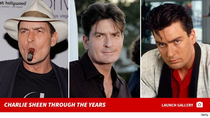 Charlie Sheen Says 'Hooker' Knew He Had HIV, Plus She Signed an NDA