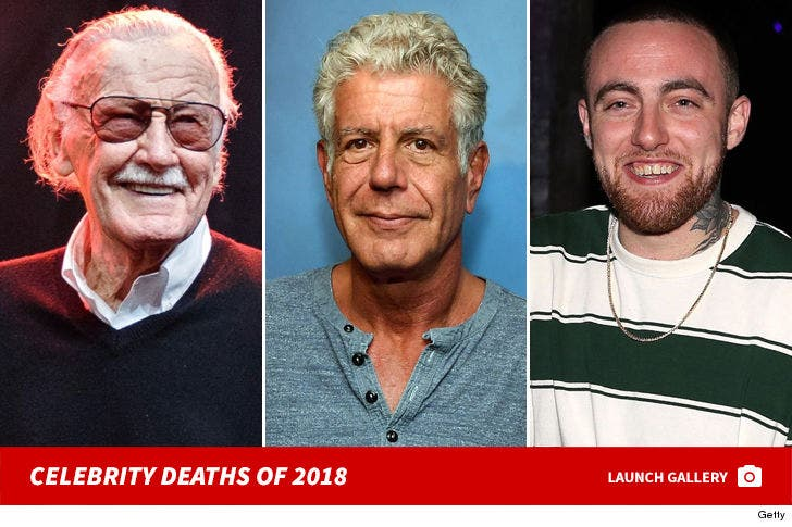 Celebrity Deaths of 2018