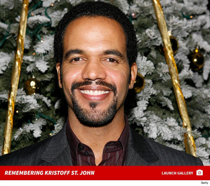 Y&R' Star Kristoff St  John Dead at 52, Treated for