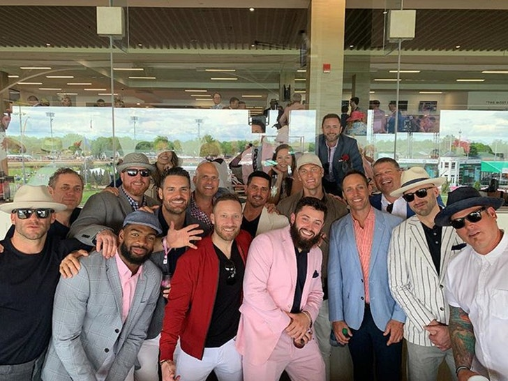 Baker Mayfield Outswags Tom Brady at Kentucky Derby