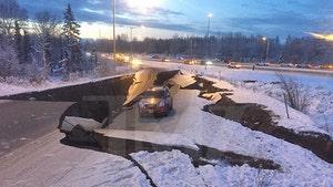 Huge 7.0 Earthquake in Alaska Destroys Roads, Triggers Tsunami Warning